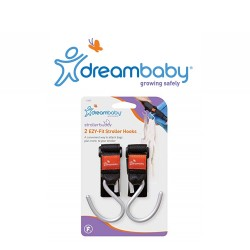 Dreambaby Stroller Buddy Ezy-Fit Stroller Hooks (2 pack) image here