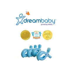 Dreambaby Stroller Clips 4 Pack - Blue,F2212 image here