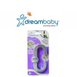 Dreambaby Secure - A Lock - Silver,F1003 image here