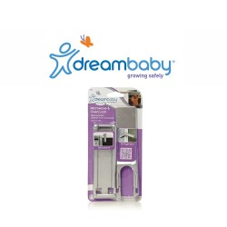 Dreambaby Microwave & Oven Lock - Silver,F1001 image here