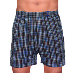 SUNJOY CHECKERED BOXER SHORTS (BLACK) image here
