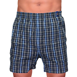 SUNJOY CHECKERED BOXER SHORTS (BLUE) image here