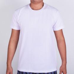 SUNJOY ROUND NECK SHIRT (WHITE) image here