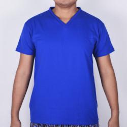 SUNJOY V-NECK SHIRT (ROYAL BLUE) image here