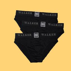 WALKER HIGH CUT BRIEF 3 IN 1 PACK (BLACK) image here