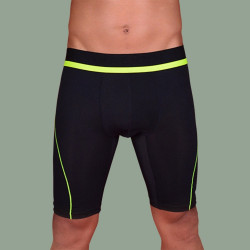 WALKER COMPRESSION ATHLETIC SHORTS (NEON GREEN) image here