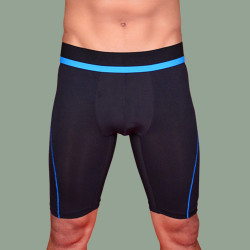 WALKER COMPRESSION ATHLETIC SHORTS (BLUE) image here