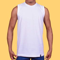WALKER ROUND NECK MUSCLE TOP (SLEEVELESS) image here