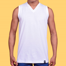 WALKER V-NECK MUSCLE TOP (SLEEVELESS) image here