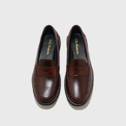 AMARETTO PENNY LOAFERS BY FERNANDO image here