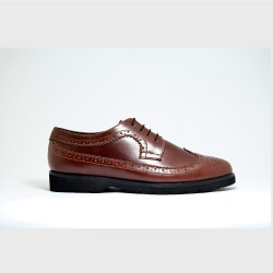 AMARETTO BROGUES BY AMBROSIO image here