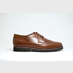 COGNAC BROGUES BY AMBROSIO image here