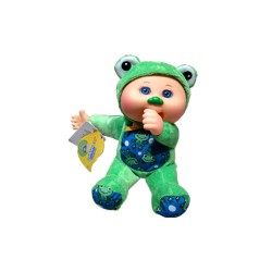 CABBAGE PATCH KIDS RAINFOREST CUTIES FREDDIE FROG  image here