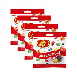 Candy Corner,Jelly Belly 20 Assorted Flavors 70g x 4pcs,CY000667 - 4pcs image here