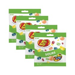 Candy Corner,Jelly Belly Sour 70g x 4pcs,CY000668 - 4pcs image here