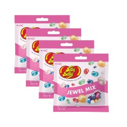 Candy Corner,Jelly Belly Jewel Mix 70g x 4pcs,CY000671 - 4pcs image here
