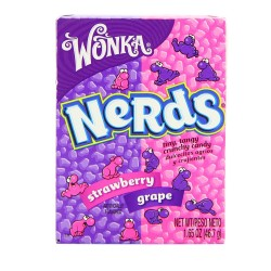 Candy Corner,Wonka Giant Nerds Grape Strawberry Box 680.3g,FG000189 image here