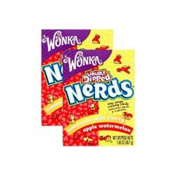 Candy Corner,Nestle Nerds Double Dipped AppCoatWtmLmnWdCh 1.65oz/46.7g x 2pcs,CY000494 - 2pcs image here