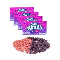Candy Corner,Nestle Nerds Grape Strawberry Theater Box 141.7g x 4pcs,CY000517 - 4pcs image here