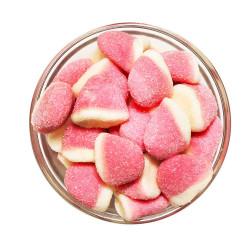 Gummy Strawberry Kisses Bulk 1kg image here