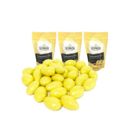 Candy Corner,Lemoncello Chocolate Almonds 80g x 3pcs,CE000507 - 3pcs image here