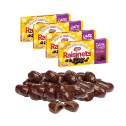 Nestle Raisinets Dark Chocolate 99.2g x 4pcs image here