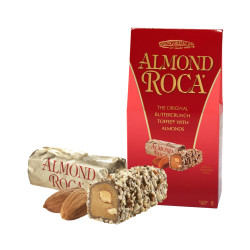 Candy Corner,Brown & Haley Almond Roca Gable Box 5oz/140g,CE000022 image here