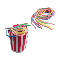 Candy Corner,Sour Spaghetti Multifruit Strings Bulk 1kg,CY000715 image here