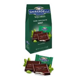 Ghirardelli Dark Chocolate & Mint Squares 151g image here
