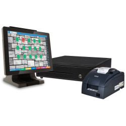Jimac,POS 485+Pro Software PackageblackFlytech POS 485 All in one Package w/ Pro Software image here