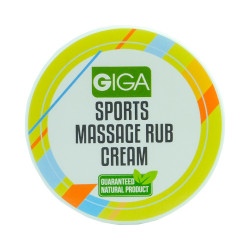 Giga Naturally,Sports Massage Rub Cream 60ml,4806528261147 image here