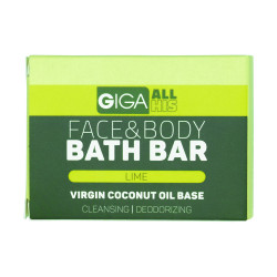 Giga Naturally,All His Face and Bath Bar Lime,4806528261314 image here