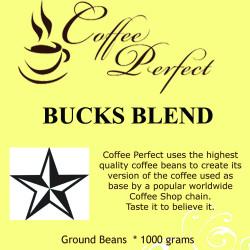Bucks Blend 1000g Ground Beans image here