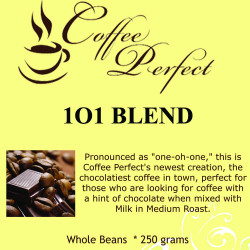 1O1 Blend 250g Whole Beans image here