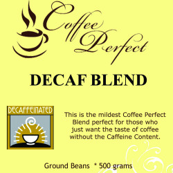 Decaf Blend 500g Ground Beans image here