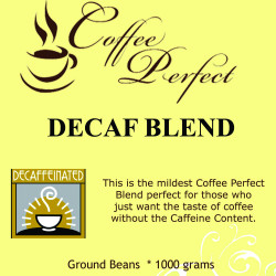 Decaf Blend 1000g Ground Beans image here