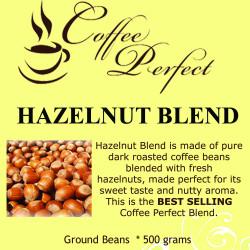 Hazelnut Blend 500g Ground Beans image here
