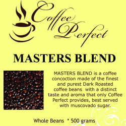 Masters Blend 500g Whole Beans image here