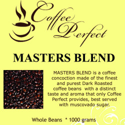 Masters Blend 1000g Whole Beans image here