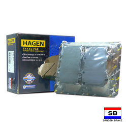 Hagen Premium Brake Pads for Toyota Land Cruiser 100 4WD & Lexus LX470 GP1379 image here