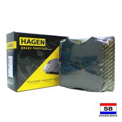 Hagen Premium Brake Pads for Toyota Land Cruiser IX (200) and Lexus LX570 GP1381 image here