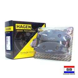 Hagen Premium Brake Pads for Nissan Urvan Estate E25, Urvan NV350 GP1447 image here