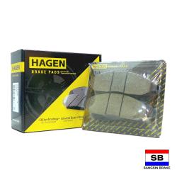 Hagen Premium Brake Pads for Nissan Frontier Navarra GP1460 image here
