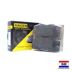 Hagen Premium Brake Pads for Toyota Hilux Vigo 4x4, Fortuner GP1484 image here