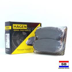 Hagen Premium Brake Pads for Mitsubishi Montero Sport/Challenger, Mazda CX-7, CX-9 GP1603 image here