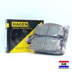 Hagen Premium Brake Pads for Isuzu Crosswind, Hi-Lander, Pick-up GP2010 image here