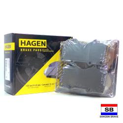 Hagen Premium Brake Pads for Toyota Land Cruiser Prado, FJ Cruiser, Fortuner, Mitsubishi Pajero 3.2 GP2033 image here