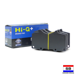 Hi-Q+ Severe Duty Brake Pads for Toyota Landcruiser Prado, FJ Cruiser, Fortuner, Mitsubishi Pajero 3.2 QP2033 image here