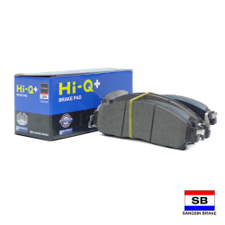 Hi-Q+ Severe Duty Brake Pads for Nissan Navara NP300 QP4080 image here