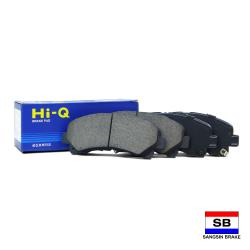 Hi-Q Front Brake Pads for Isuzu D-Max 2008-up, MU-X 2013-up, Chevrolet Colorado 2012-up, Trailblazer SP1409 image here